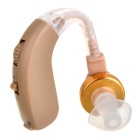 F-136 Behind Ear Volume Adjustable Sound Voice Amplifier Hearing Aid (1 x AG5)