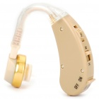 V-138 Behind Ear Volume Adjustable Sound Voice Amplifier Hearing Aid (1 x AG13)