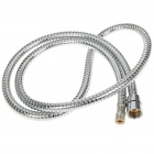 Flexible Stainless Steel Water Supply Hose Tube - Silver (1.5M Length)