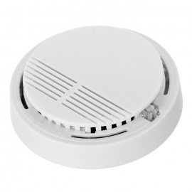 Smoke Detector Alarm Optical Sensor - Beige