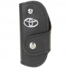 Protective Vehicle Logo PU Leather Pouch für Car Smart Key - Toyota