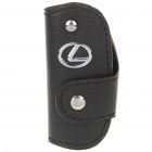 Protective Vehicle Logo PU Leather Pouch für Car Smart Key - Lexus