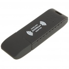 2.4GHz 802.11 b/g/n 300Mbps USB 2.0 WiFi WLAN Network Adapter - Black