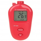 "1.3"" LCD Non-Contact Infrared Thermometer - Red (2 x AAA)"