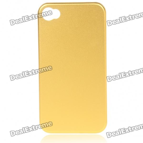 Stylish Protective Back Case for Iphone 4 - Golden