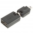 USB AF Mini 5-Pin otočná Adapter / Converter (Black)