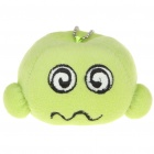 Cartoon Figure Toy with Suction Cup & Metal Chain - Green