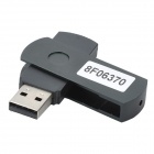 Compact USB Worldwide Internet TV/Radio/Games/MTV/Movie Player Dongle - Black