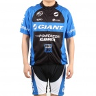 2011 Black Giant Bicycle Cycling Jersey + Bib Shorts Set (Size-S/160-168cm)