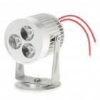 3W 260lm 3-LED 6500K Cool White Light Spot Lamp (AC 85~245V)