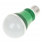 E27 5W 320-Lumen 5-LED Green Light Bulb (AC 85~245V)