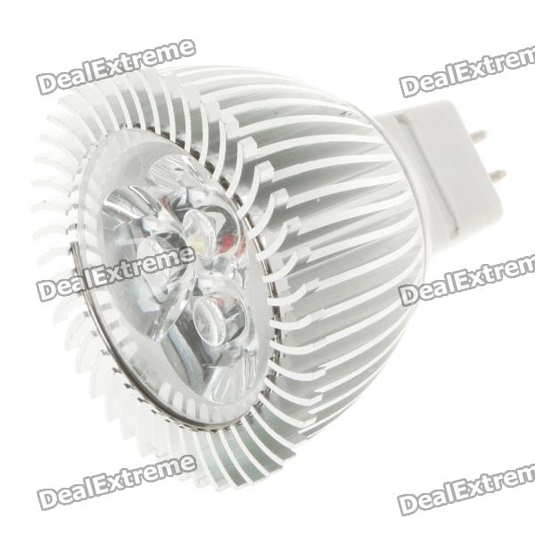 MR16 3W 260lm 6500K Cool White luz 3-LED Cup Lâmpada (12V)