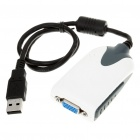 USB 2.0 to VGA Display Adapter Cable (40CM-Length)