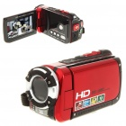 "5.0MP CMOS Waterproof Digital Video Camcorder w/ 4X Digital Zoom/HDMI/AV-Out/SD - Red (3.0"" LCD)"