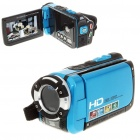 5.0MP CMOS Waterproof Digital Video Camcorder w/ 4X Digital Zoom/HDMI/AV-Out/SD - Blue(3.0