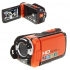 "5.0MP CMOS Waterproof Digital Video Camcorder w/ 4X Digital Zoom/HDMI/AV-Out/SD - Orange (3.0"" LCD)"