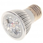 E27 4W 3500K 360-Lumen 4-LED Warm White Light Bulb (85~265V)