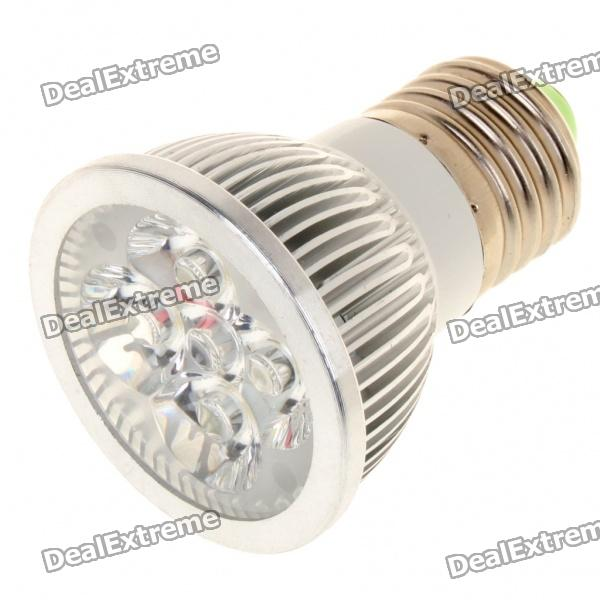 купить E27 4W 6500K 360-Lumen 4-LED White Light Bulb (85~265V) онлайн