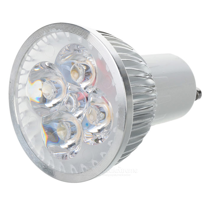 GU10 4W 3500K 360-Lumen 4-LED Warm White Light Bulb (85~265V)