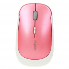 Slim 2.4GHz Wireless 500/1000DPI USB Optical Mouse w/ Receiver - Pink (1 x AA)