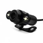 Car Rearview Parking Video Camera with 2-LED White Light (NTSC/DC 12V)