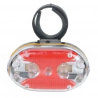 Ultra Bright Red 5-LED Bicycle Bike Light with Mount (2 x AAA)