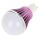 GU10 5W 5-LED Slots Aluminum Alloy Bulb Shell - Purple