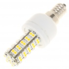 E14 4W 6500K 240-Lumen 68 x 3528 SMD LED White Light Bulb (85~265V)