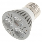 E27 3W 3500K 270-Lumen 3-LED Warm White Light Bulb (85~265V)