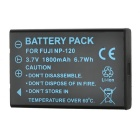 Replacement NP-120 3.7V 1900mAh Battery Pack for FujiFilm FinePix 603/Pentax Optio 450 + More