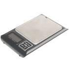 "Portable AC/3 x AAA Powered 1.8"" LCD Digital Scale - 500g/0.01g"