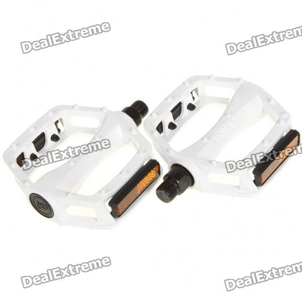 Aluminum Mountain Road Bike Bicycle Platform Pedals w/ Reflectors