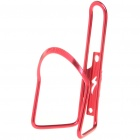 Universal Bike Bicycle Aluminum Alloy Water Bottle Holder - Rose Red