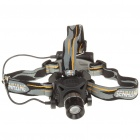 Focus-Adjustable and Dimming White LED Headlamp w/ Cree Q3 (3xAA)
