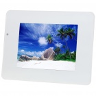 "11.3 ""TFT LCD Digital Photo Frame mit SD / MMC / MS / Remote Controller - Weiss (16MB)"