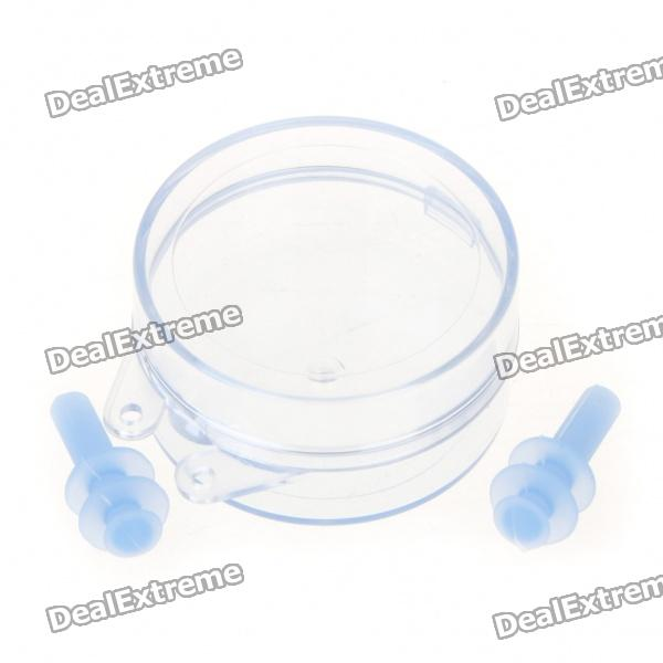 Swimming Ear Plugs - Blue (2 Piece Pack)