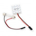 2.5W 12-SMD 5050 LED 120-150LM Red Light for Car