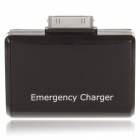 2xAA Batteries Emergency Charger for iPhone 4 / 4S/iPod - Black