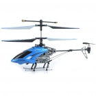Rechargeable 4-CH R/C Helicopter w/ Gyroscope - Blue + Black (IR Remote/6 x AA)