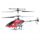 Rechargeable 4-CH R/C Helicopter w/ Gyroscope - Red + Black (IR Remote/6 x AA)