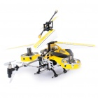 Rechargeable 4-CH R/C Helicopter w/ Gyroscope - Yellow + Black (IR Remote/6 x AA)