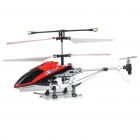Rechargeable 3-CH R/C Helicopter w/ Gyroscope - Red + Black (IR Remote/6 x AA)