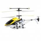 Rechargeable 3-CH R/C Helicopter w/ Gyroscope - Yellow + Black (IR Remote/6 x AA)