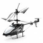 Iphone/Ipod Touch/Ipad Controlled Rechargeable 3-CH R/C I-Helicopter w/ Gyroscope - Black + Silver