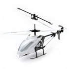 iPhone/iPod Touch/iPad Controlled Rechargeable 3-CH R/C I-Helicopter w/ Gyroscope - White + Silver
