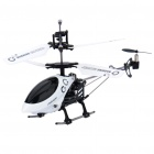 Iphone/Ipod Touch/Ipad Controlled Rechargeable 3-CH R/C I-Helicopter w/ Gyroscope - White + Black
