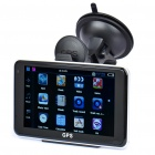 "2-in-1 5.0"" Touch Screen Win CE5.0 GPS Navigator + 1.3MP Car DVR Camcorder w/ TF/FM - Black (4GB)"