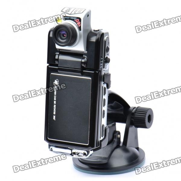 "5.0MP Wide Angle Car DVR Camcorder w/ 4x Digital Zoom/HDMI/Night Vision/SD Slot (2.5"" TFT LCD) thumbnail"