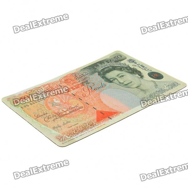 Unique UK Pound Pattern Mouse Pad Mat