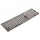Stylish Keyboard Stickers - Black